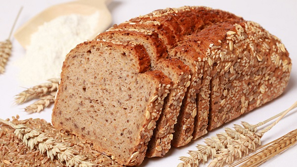 bread grain wheat cereal flour