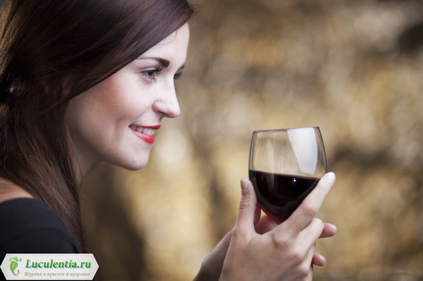 Красное вино для женщин