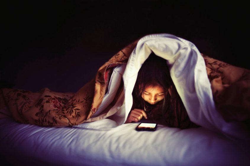 Использование телефона перед сном