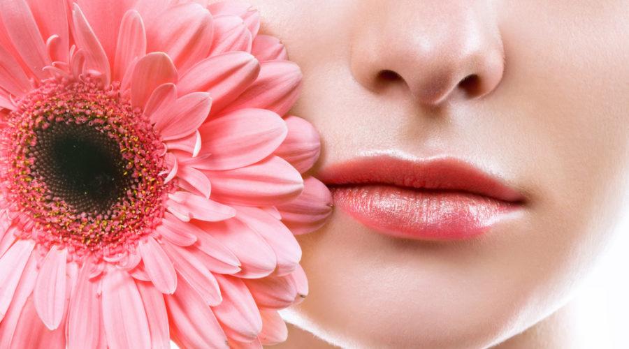 Ухоженная кожа губ