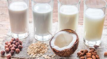 Овсяное, кокосовое и миндальное молоко