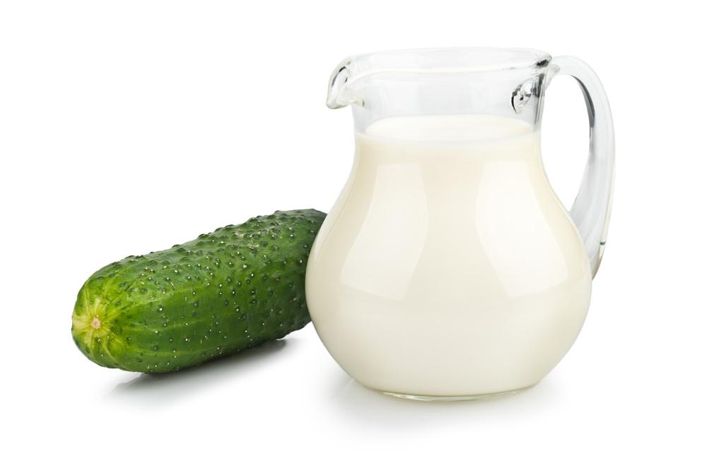 Несовместимые продукты: молоко и огурец
