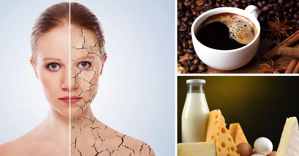 Какие продукты старят организм