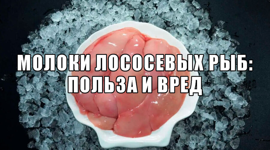 Молоки лососевых рыб